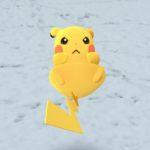 【ポケモンGO画像】東京初雪記念!ピカチュウの超絶可愛い神スクショキタ━━━━━━(゚∀゚)━━━━━━ !!!!!