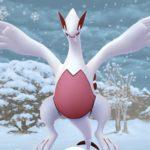 【ポケモンGO】雪の日の色違いルギア!この光景は二度と見ることができないかもしれない!?