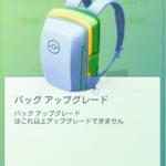 【ポケモンGO】アイテムの種類でストック数制限を決めるのが綺麗なバッグ整頓方法?