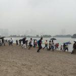 【ポケモンGO 】お台場ラプラス祭り再び!エグい場所に出現するも一斉に砂浜ダッシュwwww