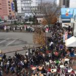 【ポケモンGO】11月20日の石巻駅前がラプラス狩りと牡蠣祭りで超絶カオスwwwwwwww