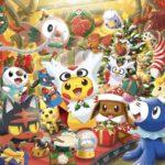 【ポケモンGO画像】クリスマスイベントの会議中!?サンタピカチュウと愉快な仲間たち大集合!