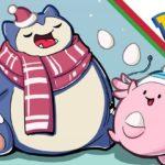 【ポケモンGO】クリスマスイベントでカビゴン出現率アップ?大量出現しそうなポケモンはこれだ!