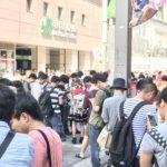 【ポケモンGO】今日も秋葉原駅前のファイヤーレイドは激アツだったようです…