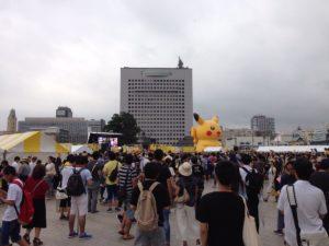 【ポケモンGO】横浜ポケモンGOパーク2日目の様子がこちら!現地民のボックスの中身が羨ましすぎる!