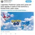 【ポケモンGO】ラティアス&ラティオスレイドが1月25日から開始される噂は本当?