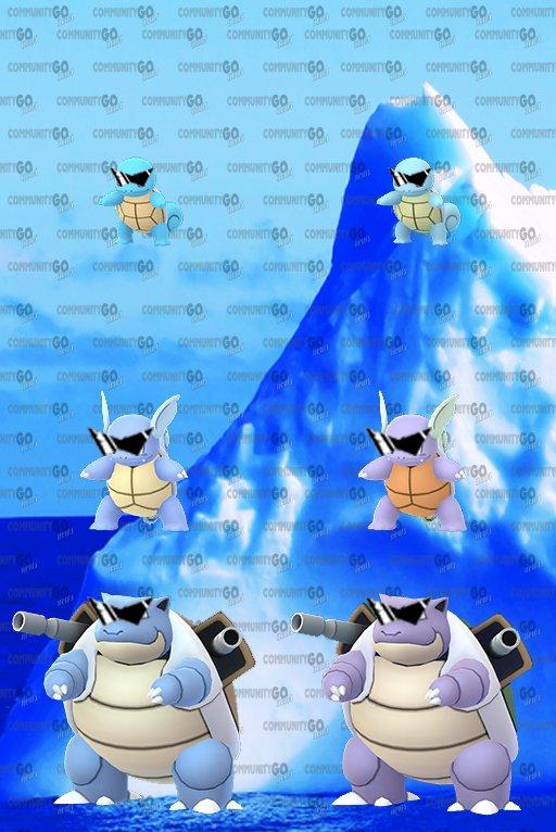 【ポケモンGO】サングラスゼニガメの登場でコミュニティデイは過去最高の盛り上がりくるか!