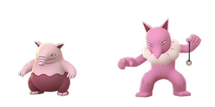 【ポケモンGO】色違いのスリープ&スリーパーはピンクになって ...