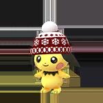 ニット帽子ピチュー