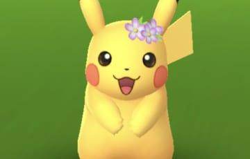 花飾りピカチュウ