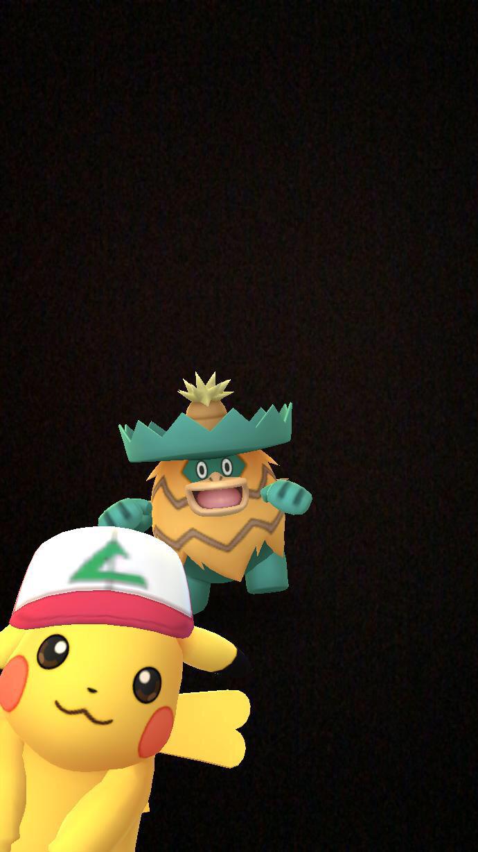 サトシ帽子ピカチュウ