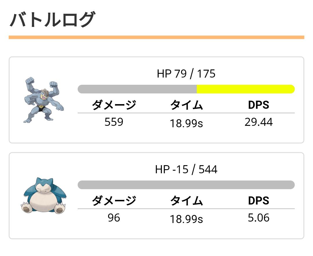 DPS比較