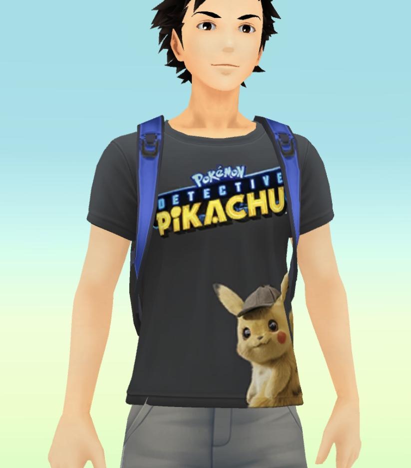 名探偵ピカチュウTシャツ