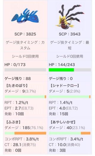 ポケモン go マスター リーグ パーティ